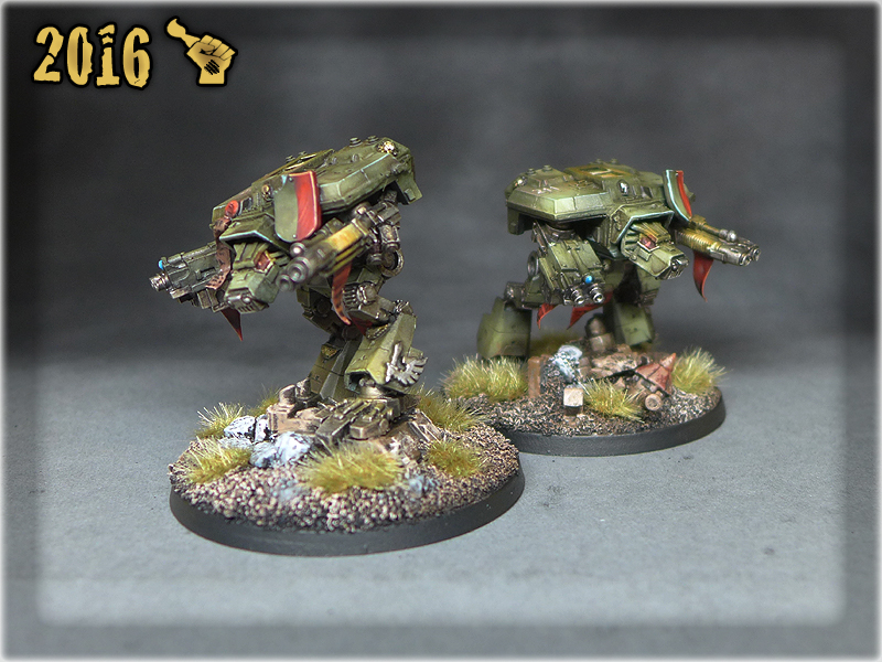 Epic Warhounds Blanks 1