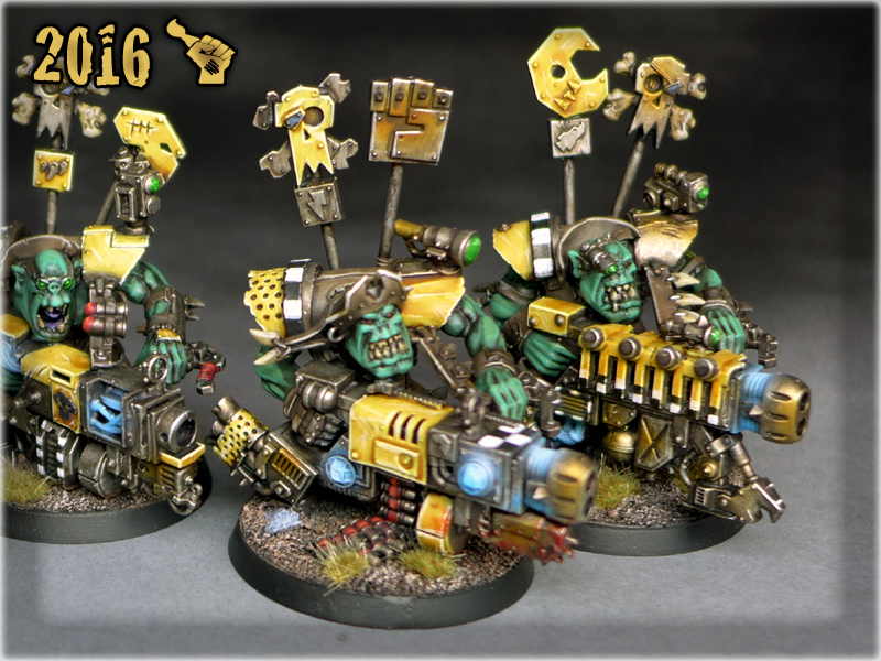 ORK FLASH GITZ x3