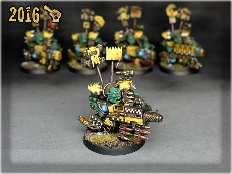 ORK FLASH GITZ x4