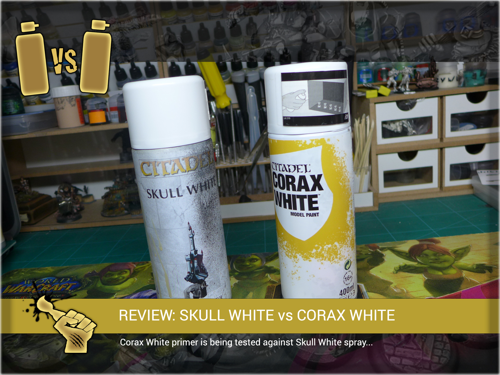 review corax white 1