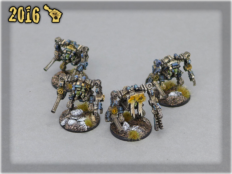 Ork Clans Deathskullz Stompas