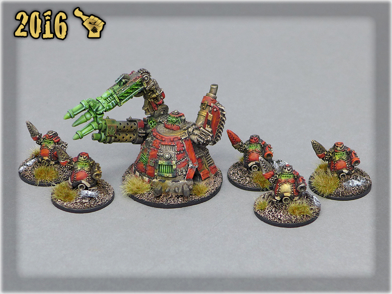 Ork Clans Evil Sunz Mekboy Gargant & Tinbots