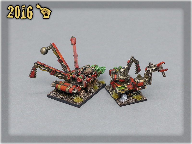 Ork Clans Evil Sunz Mekboy Wagons 2
