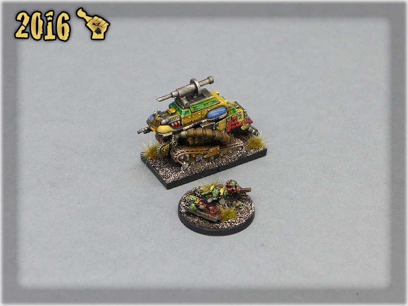 Ork Clans Painboy with Painboy Wagon