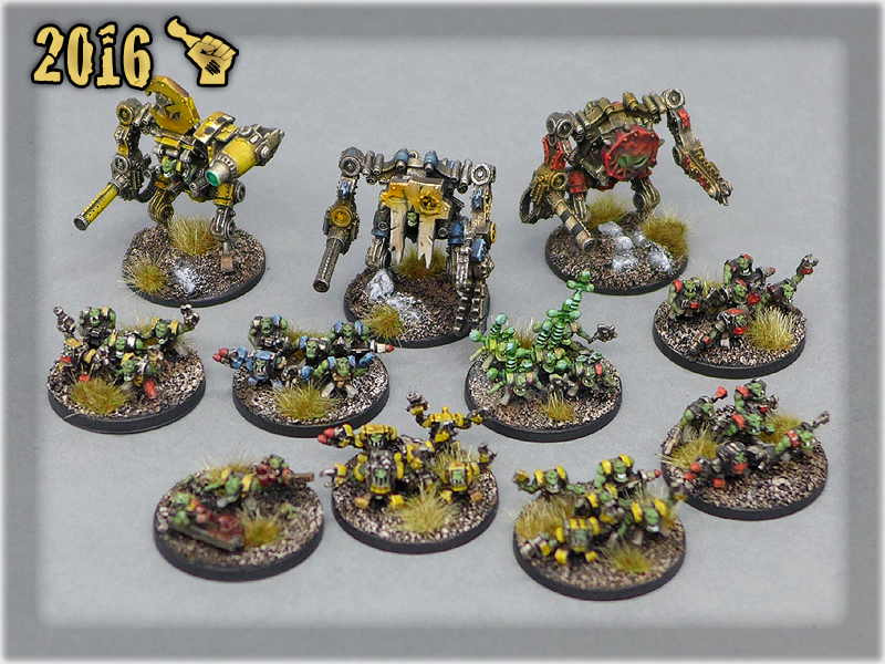 Ork Clans Stompas & Commands all