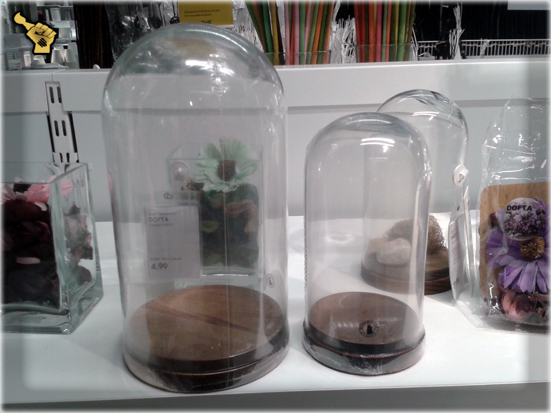 Displays and Glass Domes ikea ikea