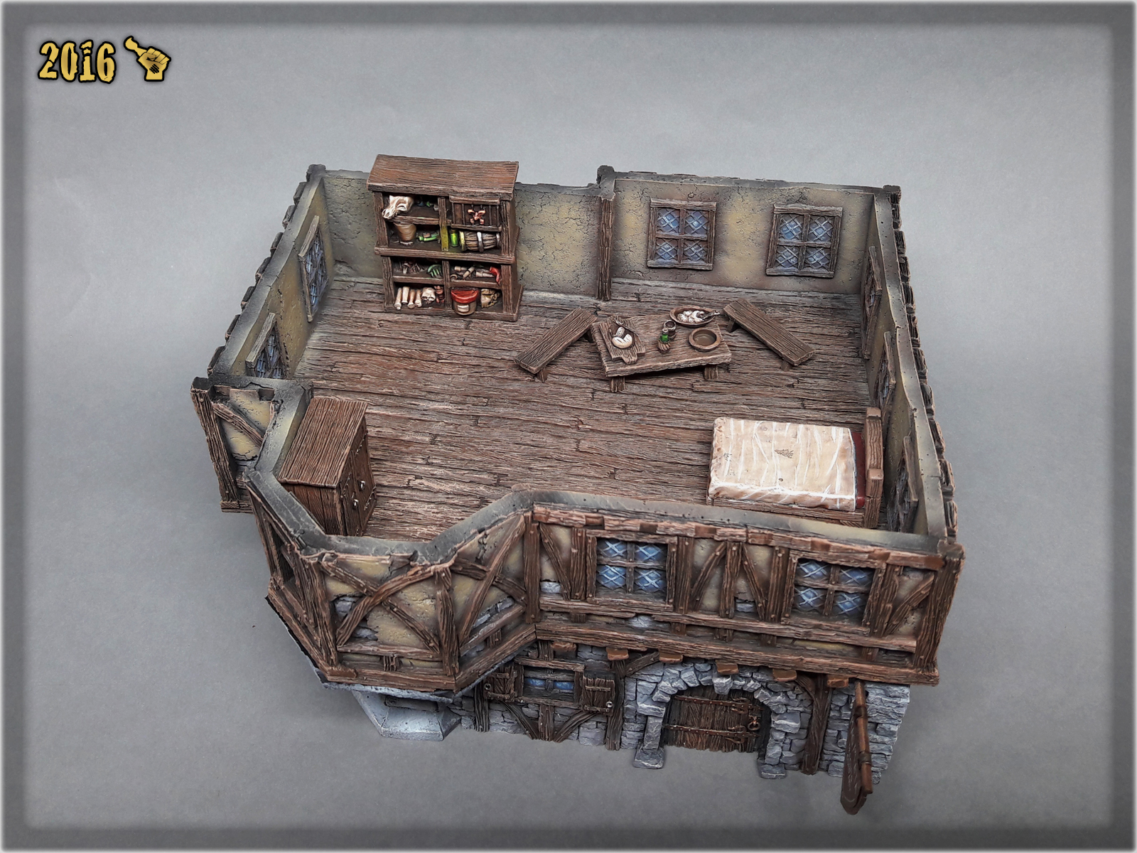 scarhandpainting-tabletop-world-mansion-1st-floor