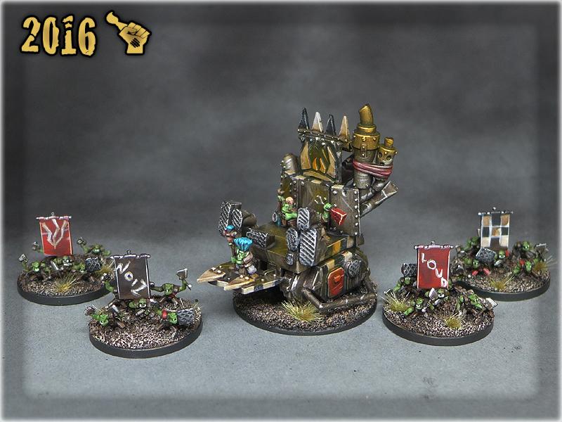 Epic Ork Rockwagon 1