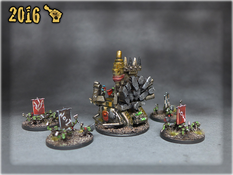 Epic Ork Rockwagon 4