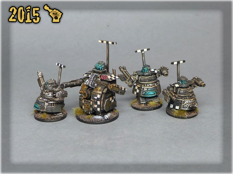 Epic Ork Stompas and Supa Stompa x2