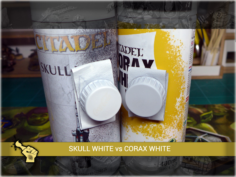 review corax white 3