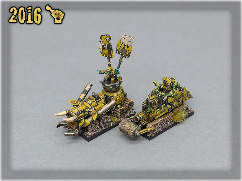 Ork Clans Bad Moonz Battle Wagons 1