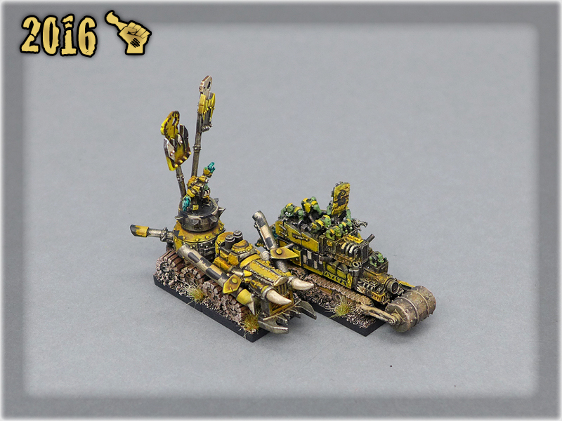 Ork Clans Bad Moonz Battle Wagons 2