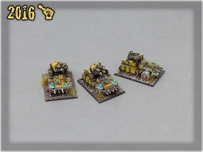 Ork Clans Bad Moonz Flak Wagon