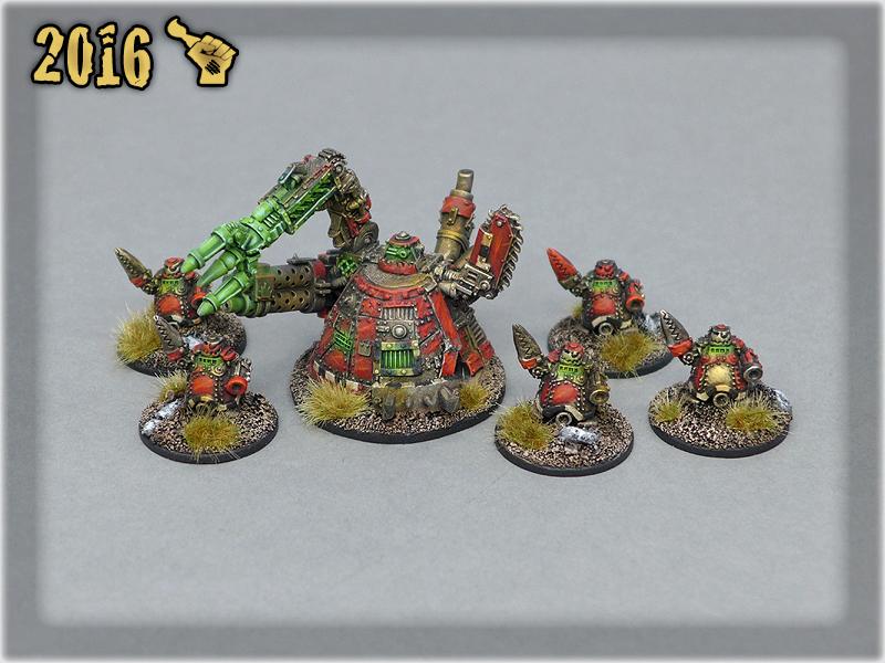 Ork Clans Evil Sunz Mekboy Gargant & Tinbots 2