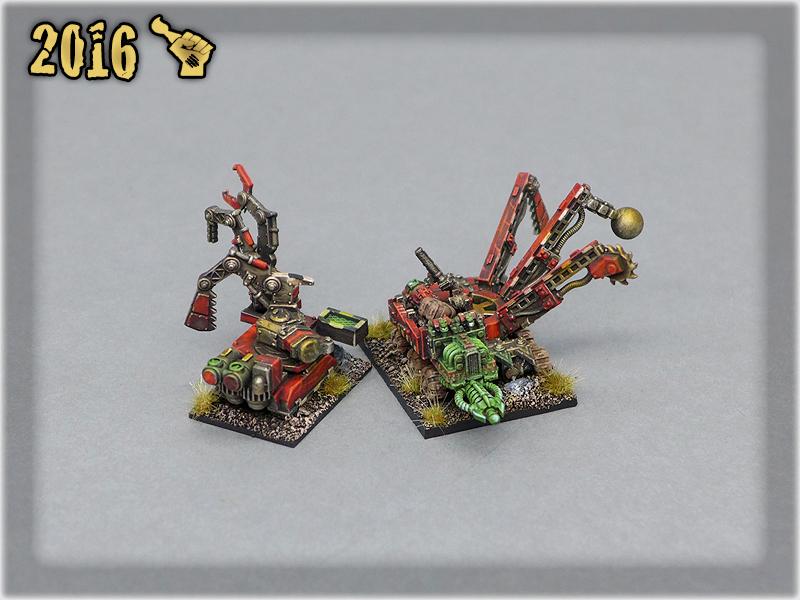 Ork Clans Evil Sunz Mekboy Wagons 1
