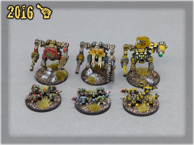Ork Clans Stompas & Commands