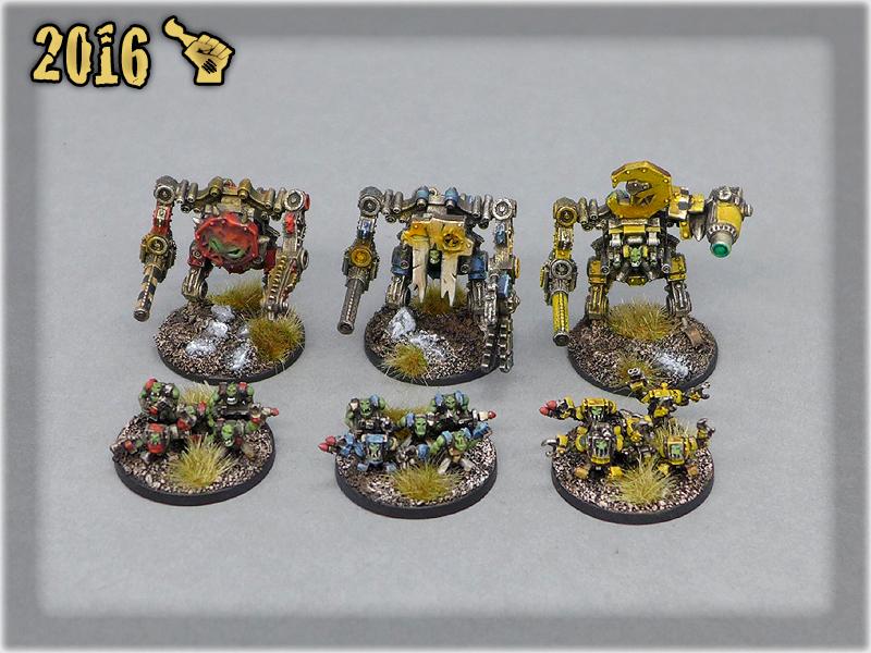 Ork Clans Stompas & Commands