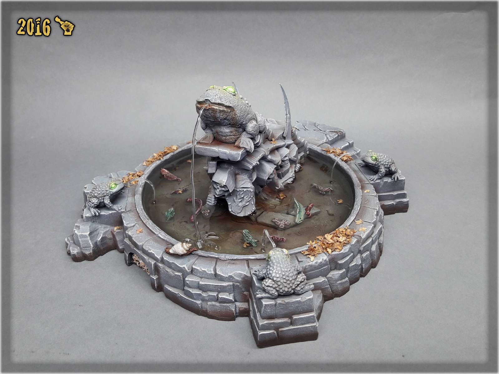 scarhandpainting-mordheim-gaming-table-frog-fountain-1