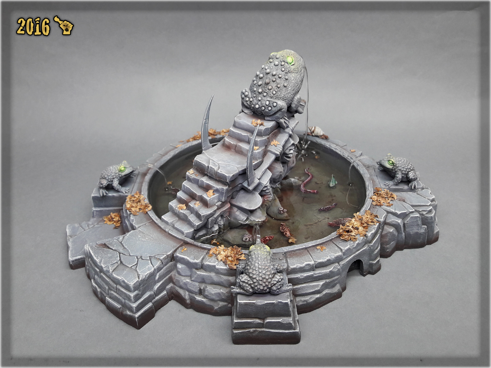 scarhandpainting-mordheim-gaming-table-frog-fountain-3