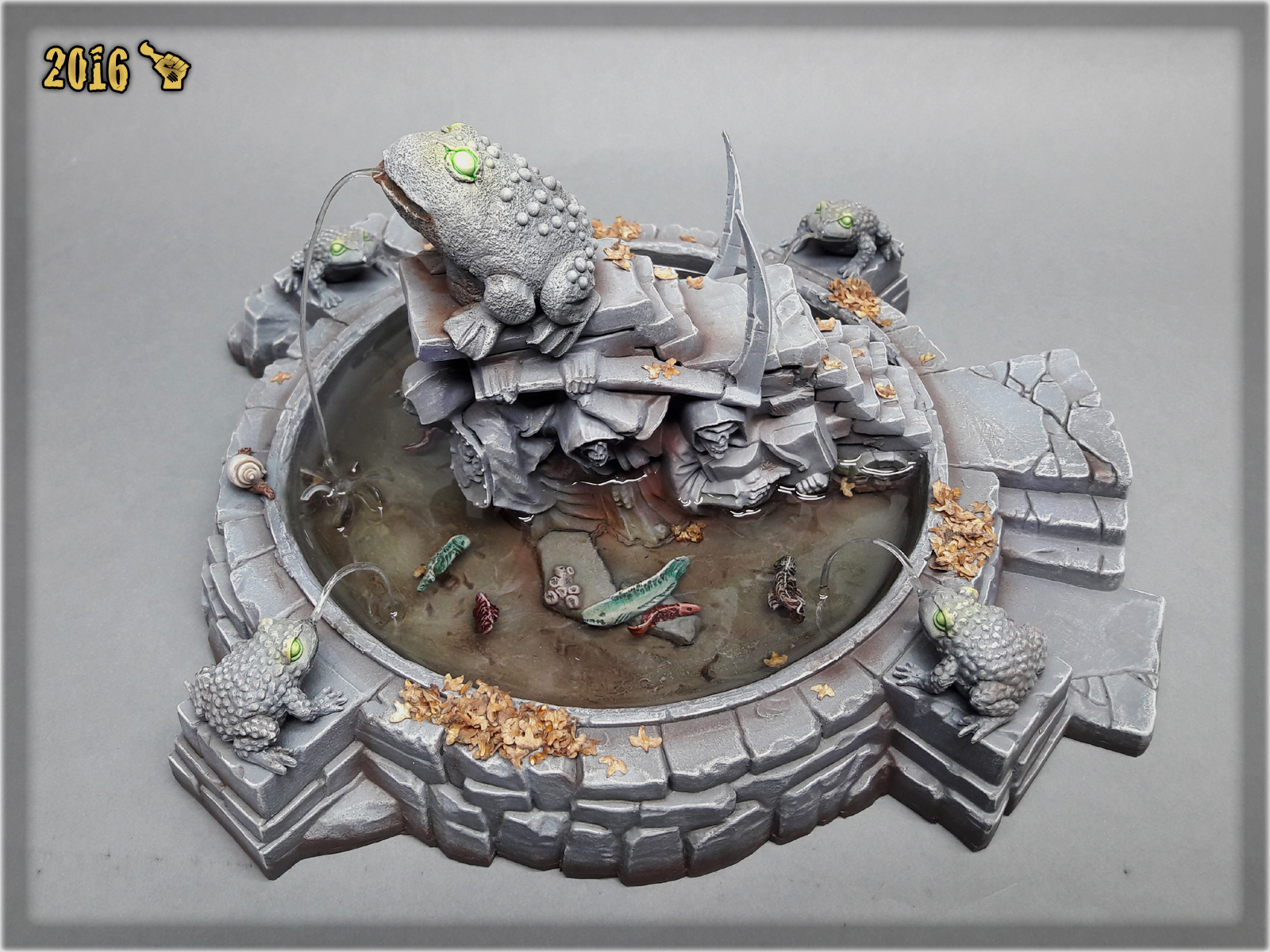 scarhandpainting-mordheim-gaming-table-frog-fountain-4