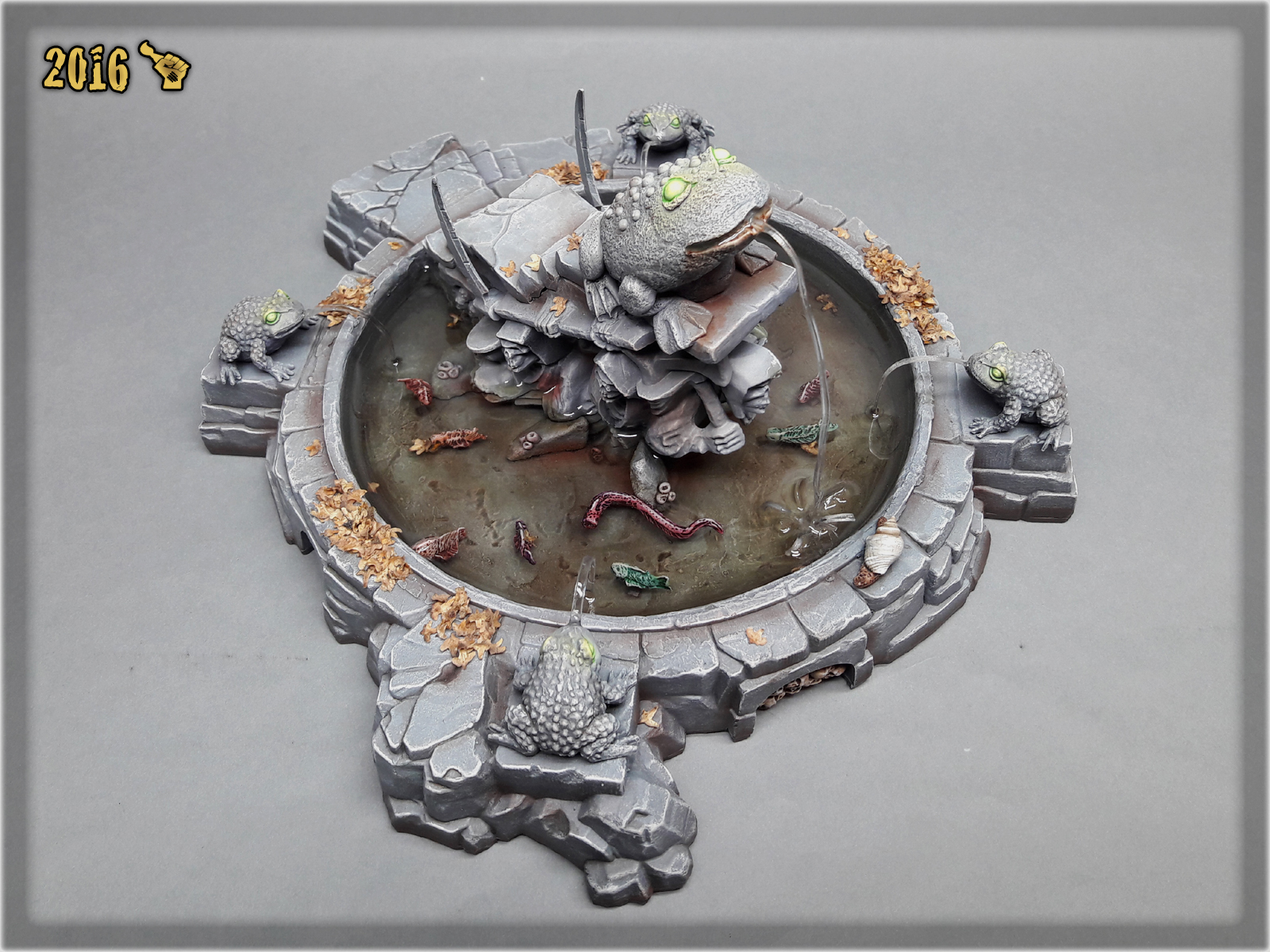 scarhandpainting-mordheim-gaming-table-frog-fountain-5